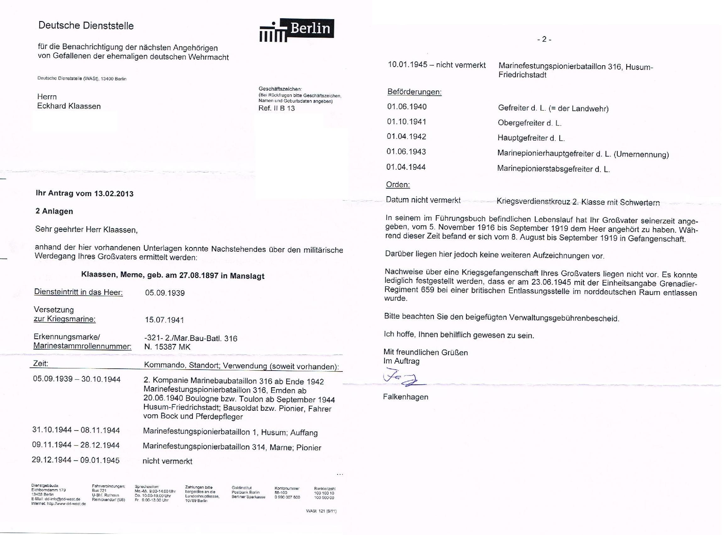 Schön Militärischer Lebenslauf Für Bundesjob Galerie ...